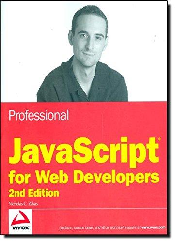 Professional JavaScript for Web Developers PDF