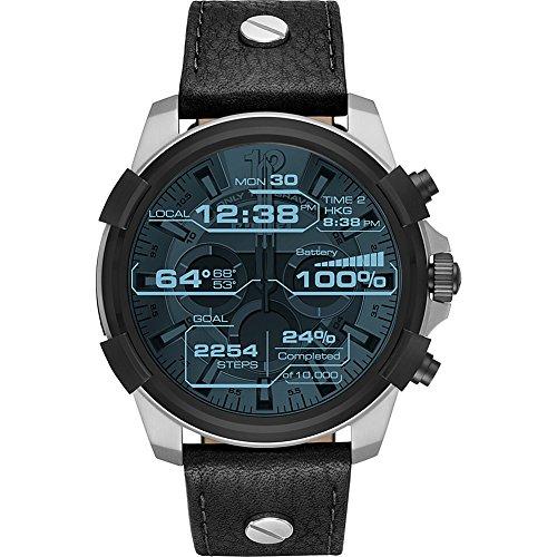 Diesel Watches Men's Touchscreen Smartwatch (Black) by Diesel
