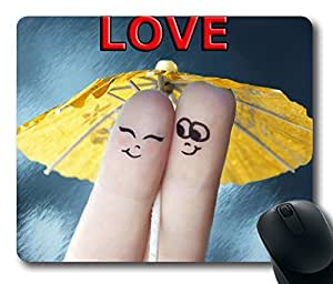 Beautiful Love Masterpiece Limited Design Oblong Mouse Pad by Cases & Mousepads