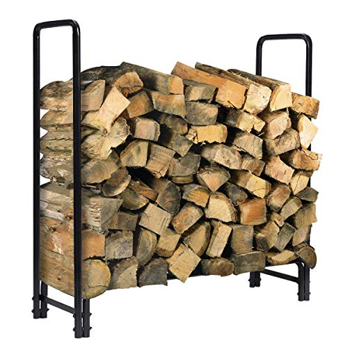 Kingso 4Ft Firewood Rack