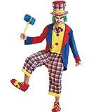 Boo! Inc. Creepy Clown Men's Halloween Costume Killer Evil Circus Carnival Performer