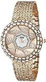Burgi Women's BUR118RG Analog Display Quartz Rose Gold Watch