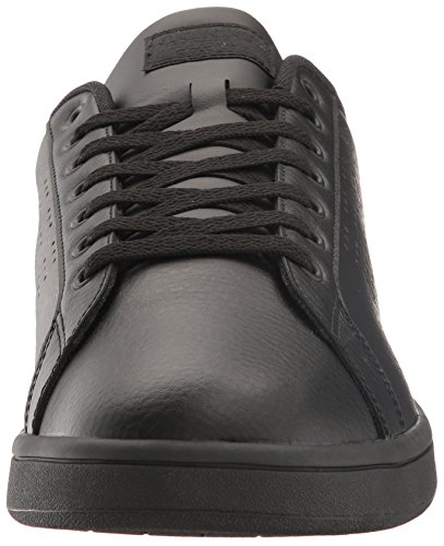 Adidas Menns Cloudfoam Fordel Rene Joggesko, Hvit / Hvit / Fairway, (7 M Oss) Svart / Svart / Mørk Solid Grå