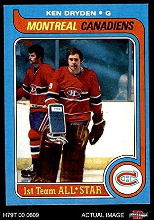Amazoncom 1979 Topps 150 Ken Dryden Montreal Canadiens