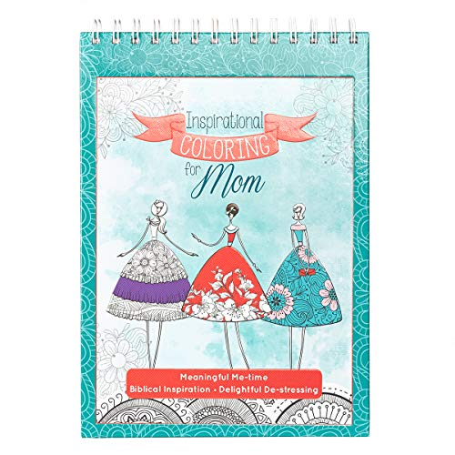 Inspirational Coloring for Mom: Hardcover Christian Coloring Book for Mothers ()