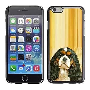 Be Good Phone Accessory // Dura Cáscara cubierta Protectora Caso Carcasa Funda de Protección para Apple Iphone 6 // Cavalier King Charles Spaniel Puppy