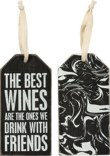 (Primitives By Kathy Bottle Tag Best Wines We Drink With Friends)