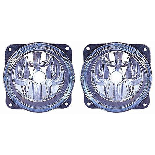 CarLights360: Fits 2001 2002 2003 2004 MAZDA TRIBUTE Fog Light R=L W/Bulbs (NSF Certified) Replaces MA2592101 MA2592101
