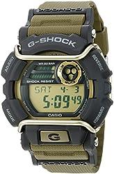 Casio Men's GD-400-9CS Digital Display Quartz Green Watch