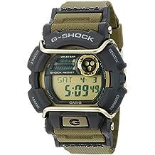 Casio Men's G-Shock Quartz Watch with Resin Strap, Green, 55 (Model: GD400-9CR)