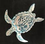 Sea Turtle Ocean Scene Metal Sign Wall Art home decor FREE SHIPPING Metal Art