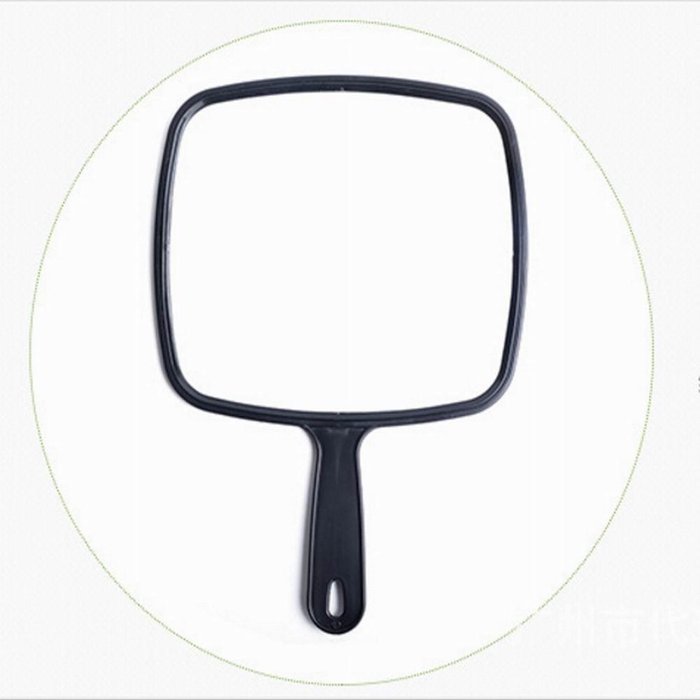 Delleu Espejo de mano profesional estilo saló n mano lavado de mano espejo herramienta de maquillaje