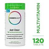 Rainbow Light - Just Once Multivitamin - Food-based, Natural Ingredients,...