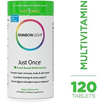 Amazon Com Rainbow Light Just Once Multivitamin Food