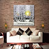 Skyinbags Hand Painted Oil Painting On