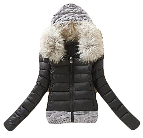 Fur Quilted Parka - 9