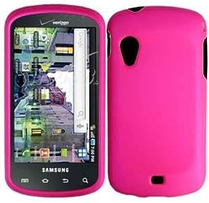 Viesrod - Hot Pink Hard Case Cover for Samsung Stratosphere i405