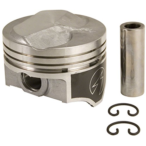 4.250 Bore Speed Pro H693CP Hypereutectic 22cc Dome Pistons+MOLY Rings Kit Set compatible with Chevy Big Block 7.4 454 STD Bore