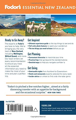 51 GXXqYaYL - Fodor's Essential New Zealand (Full-color Travel Guide)