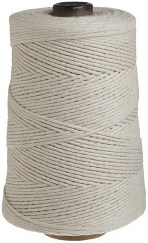 Regency Cooking Butcher's Twine for Meat Prep and Trussing Turkey 100% cotton 1 LB cone