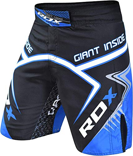 RDX MMA Shorts Grappling Martial Arts Training, Breathable Fighting Trunks for Kickboxing, Sparring, Boxing, Gym…