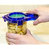 The Best #1 Jar Opener for Seniors, Arthritis, and Getting Lids Off! Ring Pull Design + Comfortable Grip