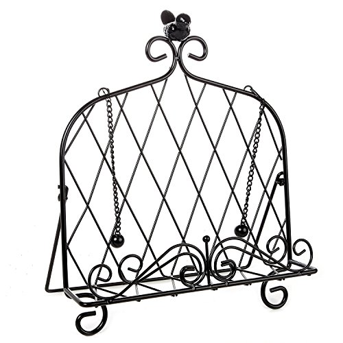 wrought iron cookbook stand - 6
