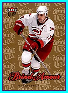 2007-08 Ultra GOLD Medallion #166 Rod Brind`Amour CAROLINA HURRICANES