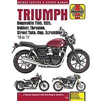 Triumph Bonneville, T100, T120, Bobber, Thruxton, Street Twi (Haynes Service and Repair Manual)