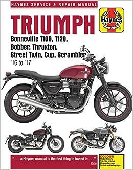 Triumph Bonneville T100 T120 Bobber Thruxton Street Twin Cup