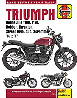Haynes triumph pre-unit 1947-1962 twins motorcycle owners workshop.