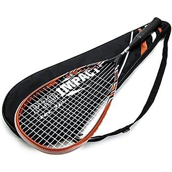 Amazon.com : Wilson Hyper Hammer Carbon 120 Blue Squash ...