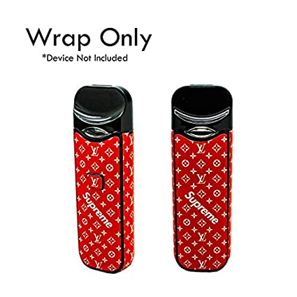 Custom Skin Decal for SMOK NORD Pod System (Decal Only, Device is Not  Included) - Vinyl Wrap Protective Sticker by VCG Customs (Supreme Red  Edition)