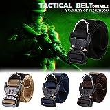 Fine Tactical Belt, Tactical Heavy Duty Waist Belt