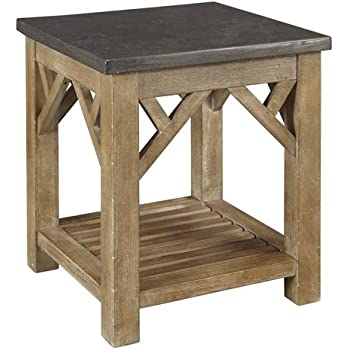 Amazon.com: A-America West Valley End Table -: Kitchen & Dining