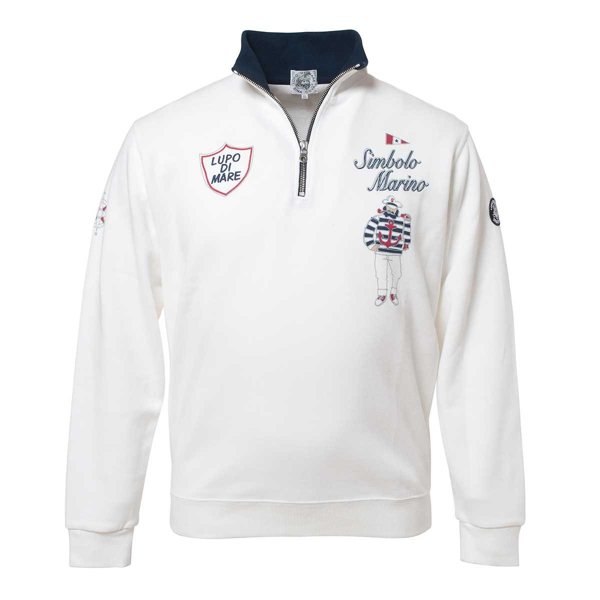 Cova SINACOVA Men's Sweatshirt Off-White X-Large by Cova