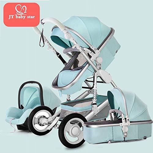 Ab Reclinable ruedas Para High beb Stroller de direcciones golpes Absorbente o cuatro y Sit Dos The Landscape Can Peque Pliegue para los rwqpOWrPF