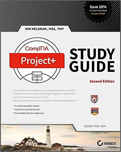 Amazon com: CompTIA Project+ Study Guide: Exam PK0-004