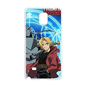 SamSung Galaxy Note4 phone cases White FULLMETAL ALCHEMIST fashion cell phone cases ITRO8379926