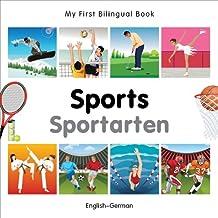 My First Bilingual Book–Sports (English–German)