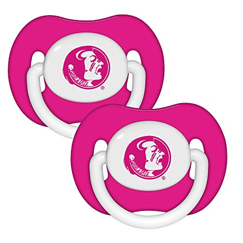 Baby Fanatic Pacifier (2 - Pack) - Florida State University Pink