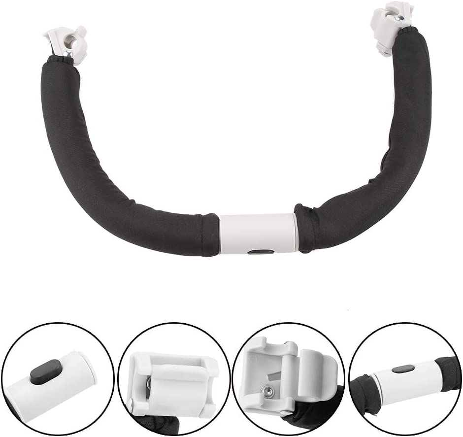 Baby Stroller Adjustable Generic Handlebar Pushchair Armrest Bumper Bar Baby Stroller Handle