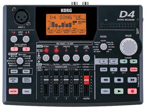 Korg Digital Recorders (Korg D4 4-Track Digital Recorder)