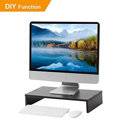 RFIVERComputer Monitor Stand Save Space Monitor Stand Riser Multi Media Desktop Stand CM1005