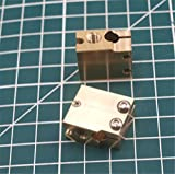 WillBest High Temperature Copper Volcano Heater Block sensor/thermistor/PT100 Sensor Cartridge Cartridge Block V6 Extruder 3D Printer