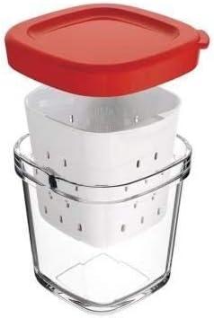 vaso de la yogurtera