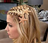Starfish Hair Pins - Set of 2 - Choose either 2'' or 3'' or one of each