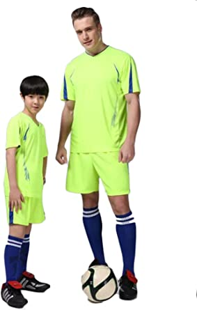Amazon Com Daddy And Me Soccer Wear Football Wear For Kids Boys 2 Piece Parent Child Clothes Set Clothing