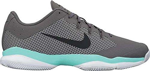 Nike Mens Air Zoom Scarpe Da Tennis Ultra Grigio Scuro / Nero / Verde Aurora / Grigio Lupo / Bianco