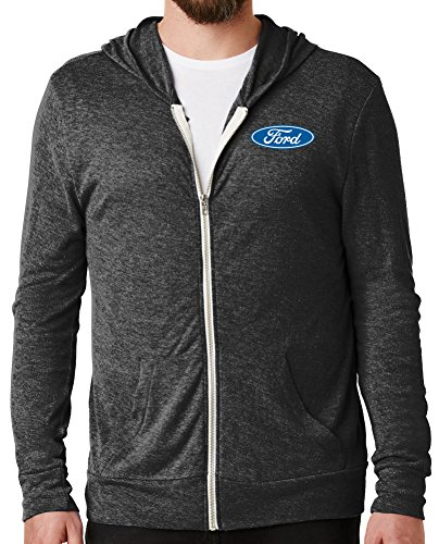 Buy Cool Shirts Mens Ford Mustang Gt Eco Zip Hoo